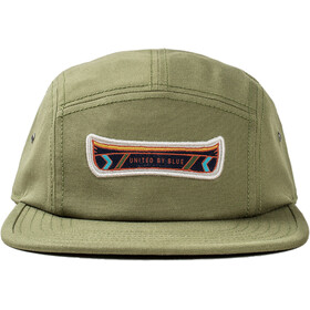 United By Blue Canoe 5-Panel Cappello, olive